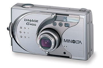 Dimage G400 Digital Camera