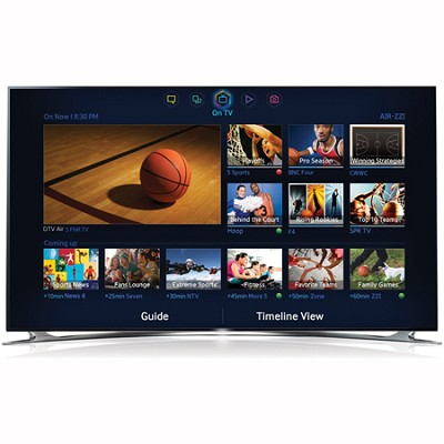 UN60F8000 - 60 inch 1080p 240hz 3D Smart Wifi LED HDTV - OPEN BOX