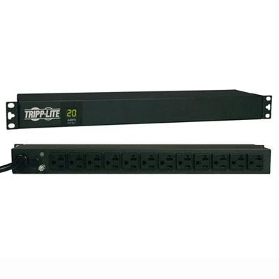 20B 20A 12-Outlet Digital Power Distribution Unit - PDUMH20