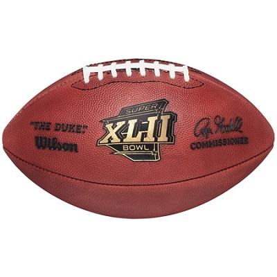 Super Bowl XLII Official Game Ball Football