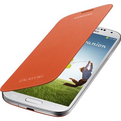 Galaxy S IV Flip Cover Orange