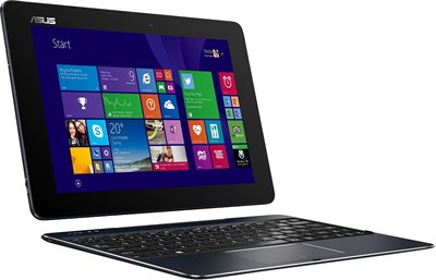 T100CHI-C1-BK Transformer Book - Chi 10.1` Intel Atom Z37775 2-in-1 - OPEN BOX