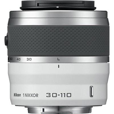 1 NIKKOR 30-110mm f/3.8 - 5.6 VR Lens White - Manufacturer Refurbished