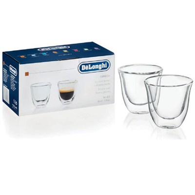 Double Walled Thermo Espresso Glasses, Set of 2