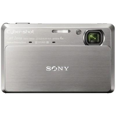 Cyber-shot DSC-TX7 10.2 MP Digital Camera w/ 3.5` Touch LCD (Silver) - OPEN BOX