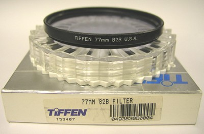 77mm 82B Filter