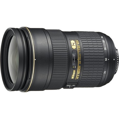 AF-S NIKKOR 24-70mm f/2.8G ED Lens - Factory Refurbished