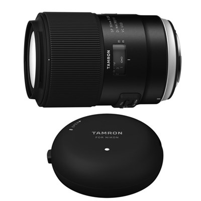 SP 90mm f/2.8 Di VC USD Macro Lens and TAP-In-Console for Nikon Mount Cameras