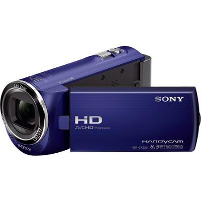 HDR-CX220/L Full HD Camcorder (Blue) - OPEN BOX