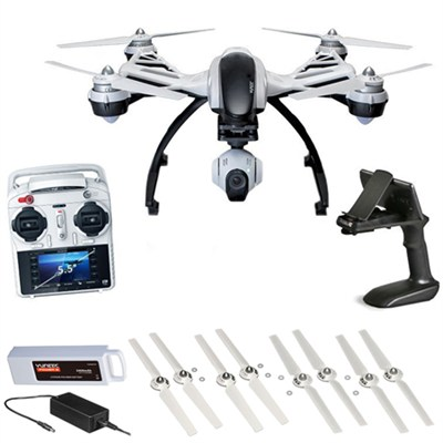 Q500+ Typhoon Quadcopter with CGO2-GB 3-Axis Gimbal Camera Deluxe Bundle