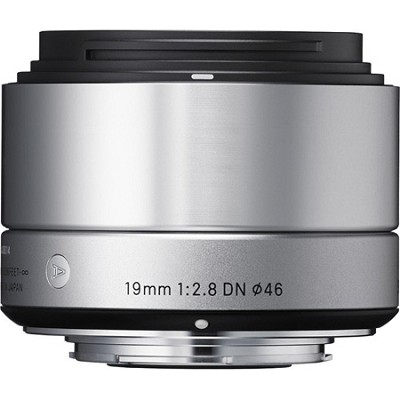 19mm F2.8 EX DN ART Lens for Micro Four Thirds (Silver)