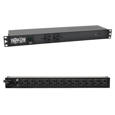 1U Isobar Surge Suppression Power Distribution Unit - PDUMH20-ISO