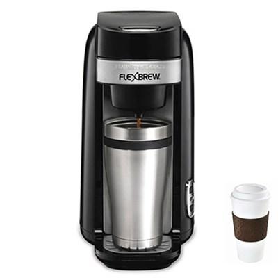Single Serve Coffee Maker, Flexbrew - 49997R + Copco To Go Cup Bundle