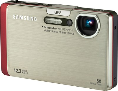 CL65 12MP 3.5 inch Touchscreen LCD Digital Camera (Silver)
