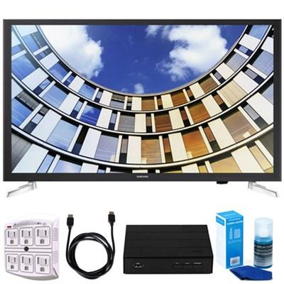 UN32M5300AFXZA 32` LED 1080p 5 Series Smart TV (2017 Model) w/ TV Tuner Bundle