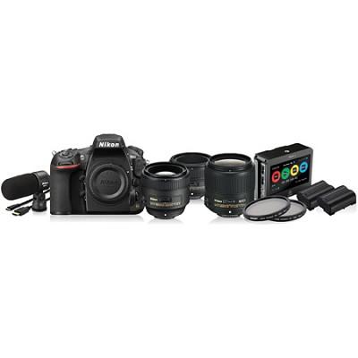 D810 36.3MP 1080p HD DSLR Filmmaker's Kit