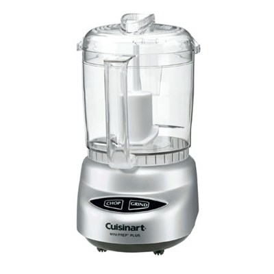 Mini 4-Cup Food Processor (Black Chrome) - Factory Refurbished