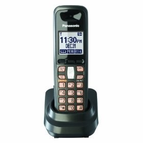 KX-TGA641T DECT 6.0 Digital CordlessExtra Handset for Use only with TG6400 Serie