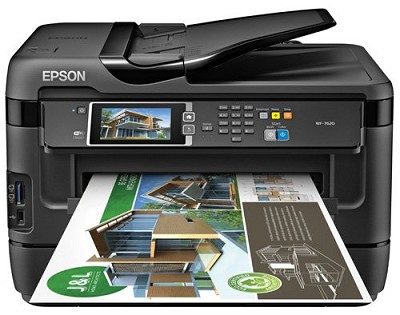 WorkForce WF-7620 Wireless Color All-in-One Inkjet - Manufacturer Refurbished