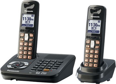 KX-TG6442T DECT 6.0 Expandable Digital Cordless Phone System