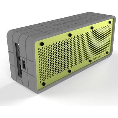 625s Bluetooth Speakerphone and Charger for iPhone, iPod, iPad (Gray/Green)