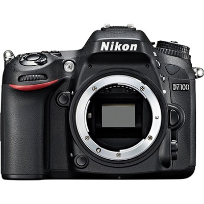D7100 DX-Format 24.1 MP Digital SLR Camera (Body Only) Factory Refurbished