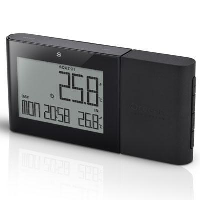 Alize Wireless Indoor/Outdoor Thermometer in Black - RMR262B