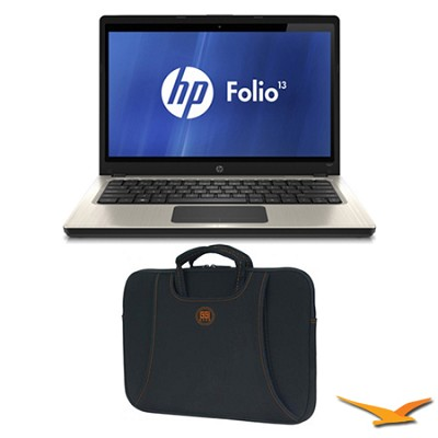 Folio 13.3` 13-1020US Ultrabook Notebook and Case Bundle