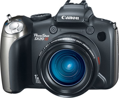 Powershot SX20 IS 12.1 MP Digital Camera - REFURBISHED