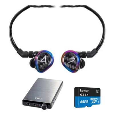 JH Audio Special Edition Layla Headphones, Black w/ FiiO E12 Pro Amps Bundle