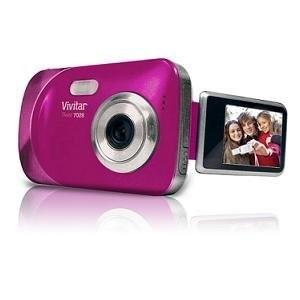 ViviCam 7028 Digital Camera pink