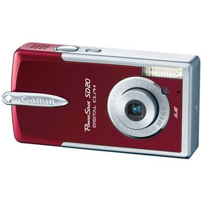 Powershot SD20 Digital ELPH Camera (Garnet)