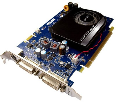 GeForce 9500 GT 1024MB PCI-Express 2.0 VGA + DVI Graphics Card VCG951024GXEB