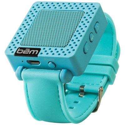 Band Bluetooth Wrist Speaker Watch (Blue) - BEMSWB - OPEN BOX