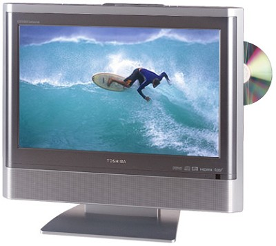 17HLV85 - 17` TheaterWide LCD HDTV w/ built-in DVD Player / HDMI & PC Input