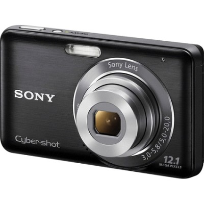 DSC-W310 Digital Camera (Black)