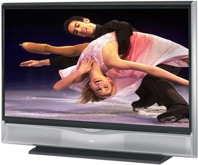 HD-61G887 HD-ILA 61` High-definition LCoS Rear Projection TV (Silver)