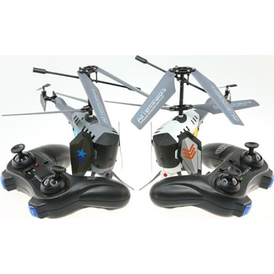 Air Teminators RC Battle Helicopters Turret Assault - ODY-9000