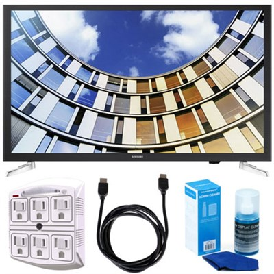 UN32M5300AFXZA 32` LED 1080p Smart HD TV (2017 Model) w/ Accessory Bundle