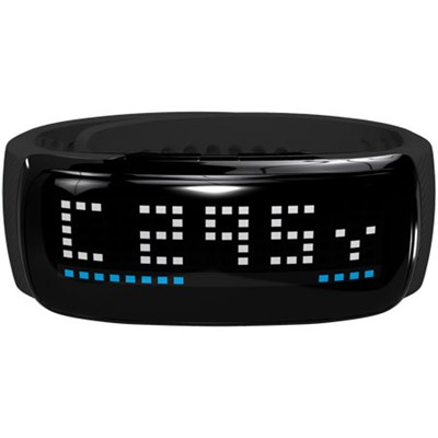 BB5 Golf GPS LED Band, Black/Silver - OPEN BOX