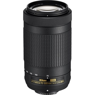AF-P DX NIKKOR 70-300mm f/4.5-6.3G ED Lens - Refurbished
