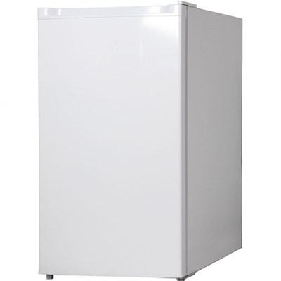 4.4 Cubic Ft Compact Single Door Refrigerator with Freezer Section - KSTRC44CW