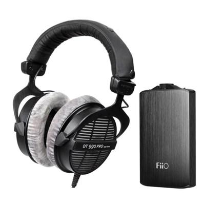 DT990 Professional Acoustically Open Headphones 250 Ohms w/ FiiO A3 Amp