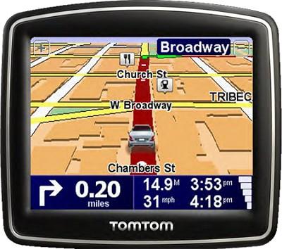 ONE 140S Car Navigator GPS w/ Spoken Street Names & 3.5 inch Touchscreen