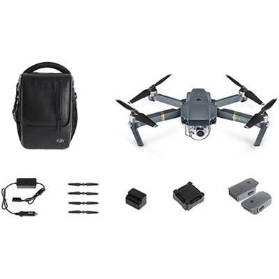 Mavic Pro 4K Camera Quadcopter Drone Fly More Combo Pack / 2 Extra Batteries