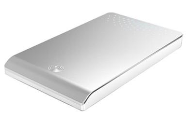 FreeAgent Go 320 GB USB 2.0 Portable External Hard Drive (Silver)