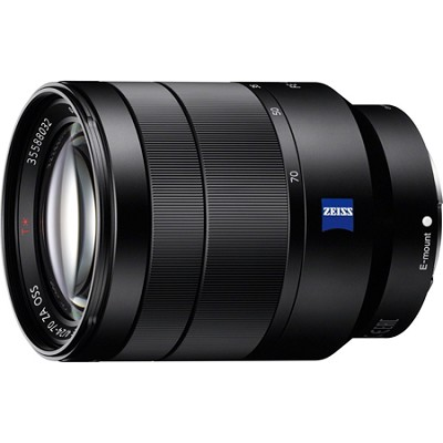 Vario-Tessar T* FE 24-70mm F4 ZA OSS Full Frame E-Mount Lens