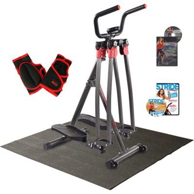Brenda DyGraf SlimStrider 360 X w/ Mat, Power Gloves & 2 Workout DVDs