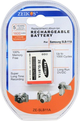 SLB11A 1600mAh Battery f/ Samsung TL240, CL80, HZ30W, HZ35W, TL320, CL65 Cameras