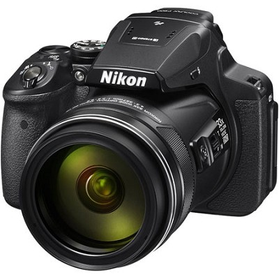 COOLPIX P900 16MP 83x Super Zoom Digital Camera Full HD Video, WiFi, GPS - Black
